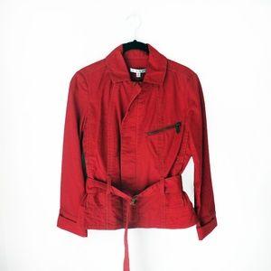 NWT ✨CAbi- Nautical Red Jacket ✨